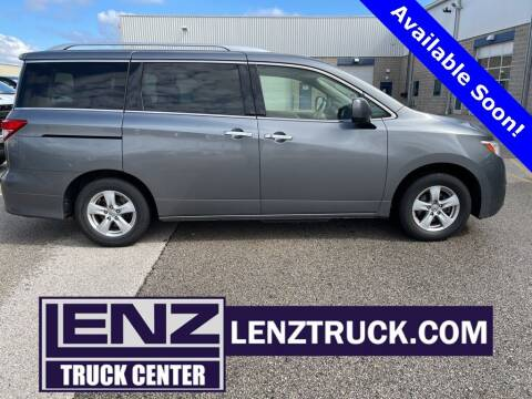 2017 Nissan Quest for sale at LENZ TRUCK CENTER in Fond Du Lac WI