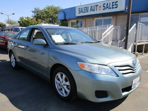 2011 Toyota Camry for sale at Salem Auto Sales in Sacramento CA