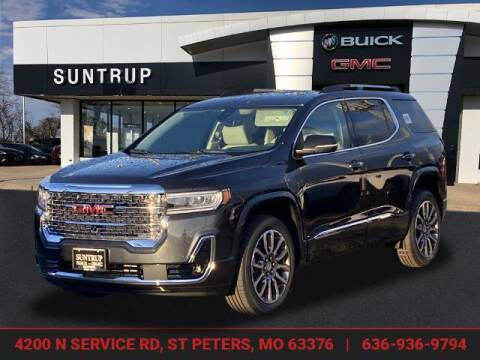 2021 GMC Acadia for sale at SUNTRUP BUICK GMC in Saint Peters MO