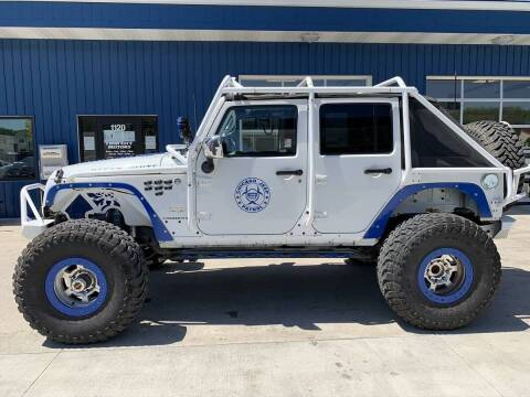 2011 Jeep Wrangler Unlimited for sale at Twin City Motors in Grand Forks ND