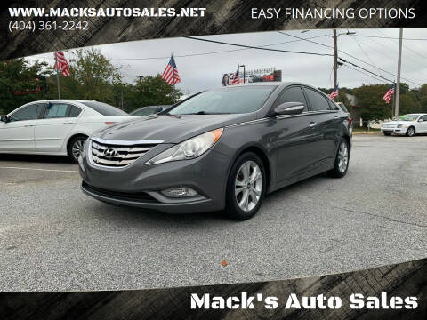 2011 Hyundai Sonata for sale at Mack's Auto Sales in Forest Park GA