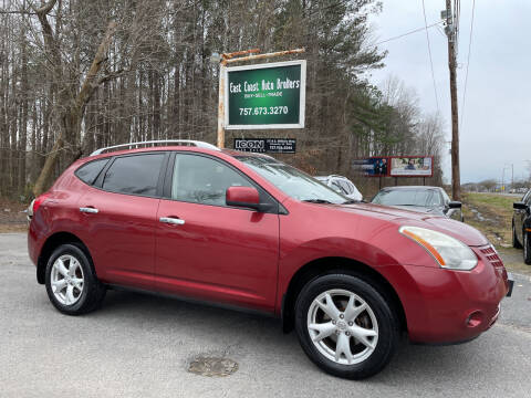 2010 Nissan Rogue for sale at East Coast Auto Brokers in Chesapeake VA