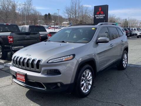 2015 Jeep Cherokee for sale at Midstate Auto Group in Auburn MA