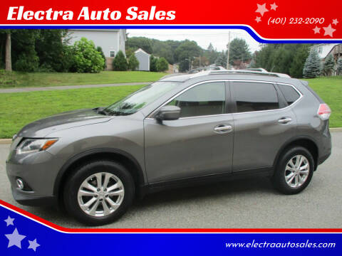 2015 Nissan Rogue for sale at Electra Auto Sales in Johnston RI
