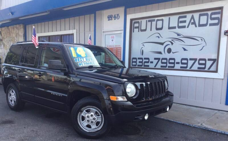 2014 Jeep Patriot for sale at AUTO LEADS in Pasadena TX
