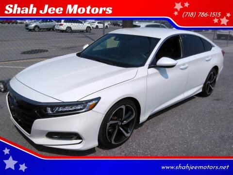 2018 Honda Accord for sale at Shah Jee Motors in Woodside NY
