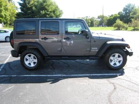 2018 Jeep Wrangler JK Unlimited for sale at FINNEY'S AUTO & TRUCK in Atlanta IN