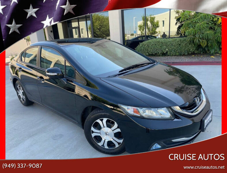 2013 Honda Civic for sale at Cruise Autos in Corona CA