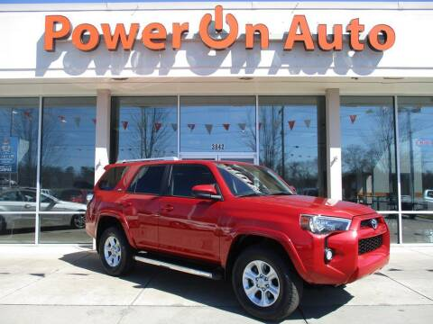 2018 Toyota 4Runner for sale at Power On Auto LLC in Monroe NC