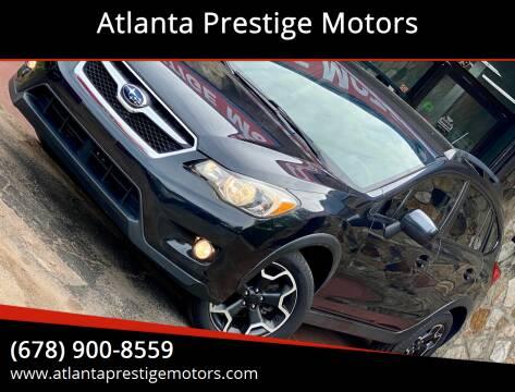 2013 Subaru XV Crosstrek for sale at Atlanta Prestige Motors in Decatur GA