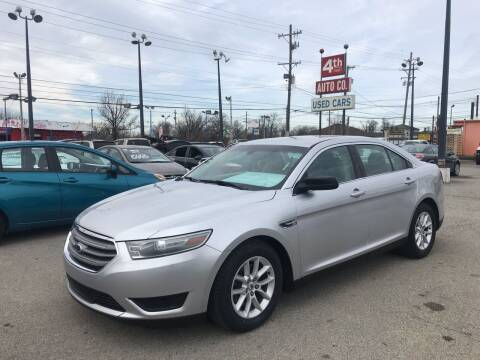 2014 Ford Taurus for sale at 4th Street Auto in Louisville KY
