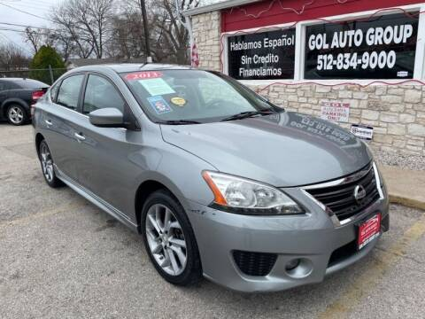 2013 Nissan Sentra for sale at GOL Auto Group in Austin TX