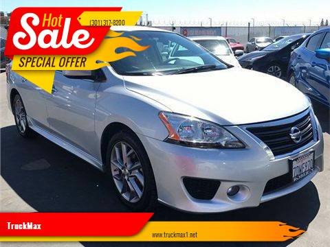2013 Nissan Sentra for sale at TruckMax in N. Laurel MD