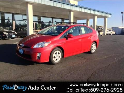 2010 Toyota Prius for sale at PARKWAY AUTO CENTER AND RV in Deer Park WA