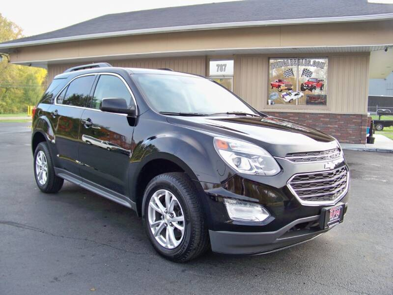 2017 Chevrolet Equinox for sale at RPM Auto Sales in Mogadore OH