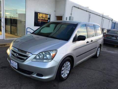 2006 Honda Odyssey for sale at Safi Auto in Sacramento CA