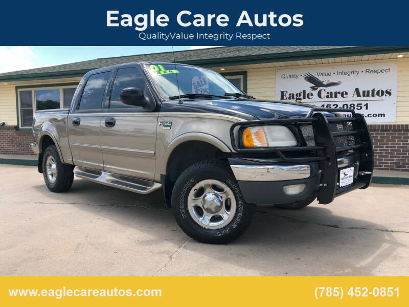 2001 Ford F-150 for sale at Eagle Care Autos in Mcpherson KS
