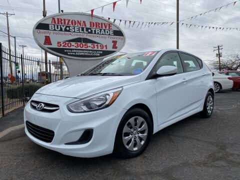 2017 Hyundai Accent for sale at Arizona Drive LLC in Tucson AZ