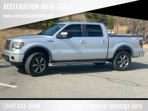 2012 Ford F-150 for sale at XCELERATION AUTO SALES in Chester VA