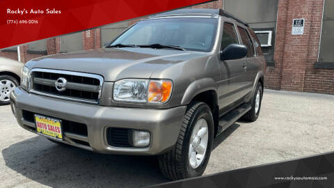 2004 Nissan Pathfinder for sale at Rocky's Auto Sales in Worcester MA
