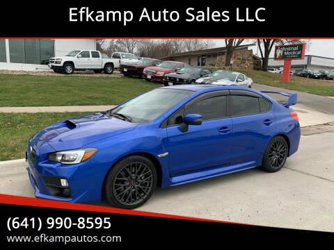 2017 Subaru WRX for sale at Efkamp Auto Sales LLC in Des Moines IA