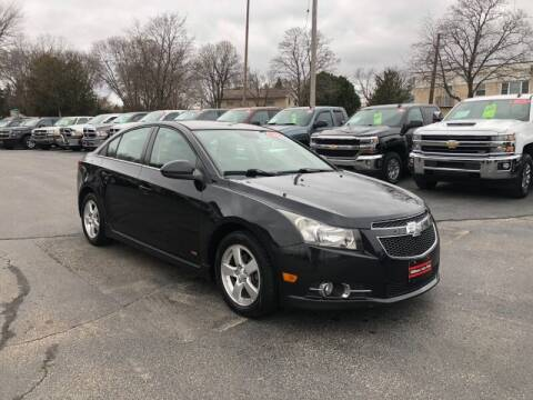 2013 Chevrolet Cruze for sale at WILLIAMS AUTO SALES in Green Bay WI