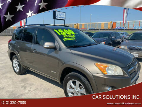 2011 Toyota RAV4 for sale at Car Solutions Inc. in San Antonio TX
