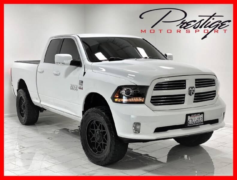 2017 RAM Ram Pickup 1500 for sale at Prestige Motorsport in Rancho Cordova CA