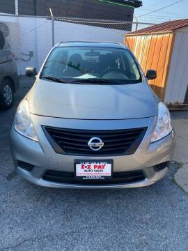 2014 Nissan Versa for sale at E-Z Pay Used Cars in McAlester OK