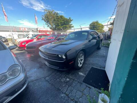2018 Dodge Challenger for sale at Dream Cars 4 U in Hollywood FL