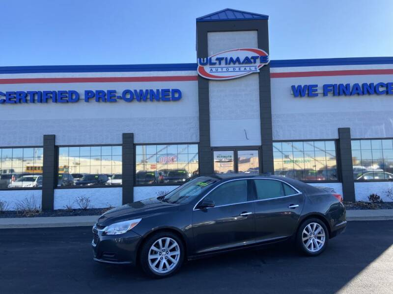 2015 Chevrolet Malibu for sale at Ultimate Auto Deals in Fort Wayne IN