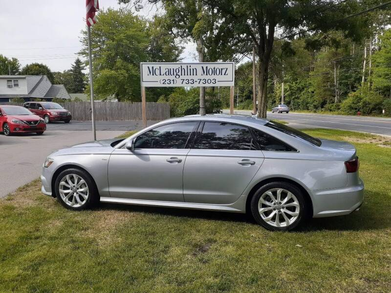 2017 Audi A6 for sale at McLaughlin Motorz in North Muskegon MI