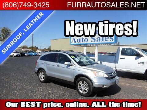 2011 Honda CR-V for sale at FURR AUTO SALES in Lubbock TX