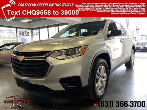 2018 Chevrolet Traverse for sale at CERTIFIED HEADQUARTERS in St James NY