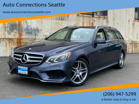 2016 Mercedes-Benz E-Class for sale at Auto Connections Seattle in Seattle WA