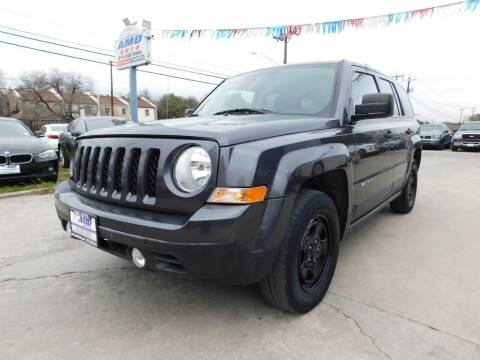 2017 Jeep Patriot for sale at AMD AUTO in San Antonio TX