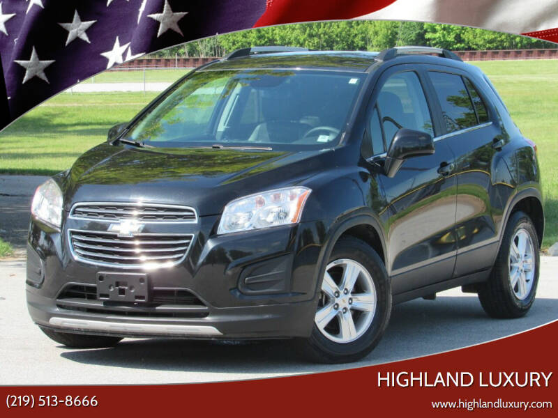 2015 Chevrolet Trax for sale at Highland Luxury in Highland IN