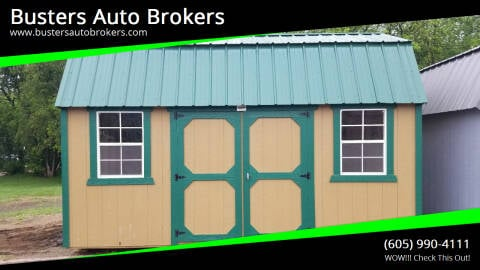 2021 Old Hickory Building 10 X 16 Side Lofted Barn for sale at Busters Auto Brokers in Mitchell SD