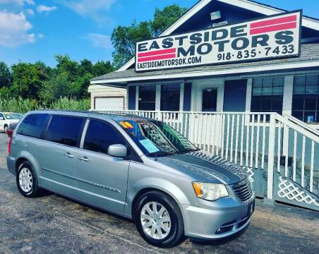 2014 Chrysler Town and Country for sale at EASTSIDE MOTORS in Tulsa OK