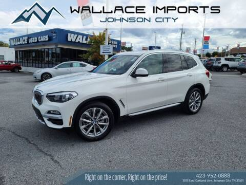 2019 BMW X3 for sale at WALLACE IMPORTS OF JOHNSON CITY in Johnson City TN