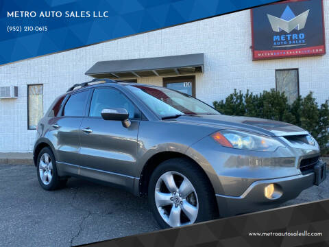 2008 Acura RDX for sale at METRO AUTO SALES LLC in Blaine MN