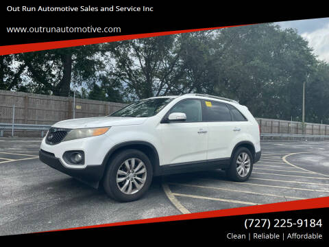 2011 Kia Sorento for sale at Out Run Automotive Sales and Service Inc in Tampa FL