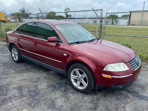 2004 Volkswagen Passat for sale at Jack's Auto Sales in Port Richey FL