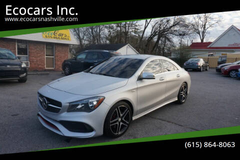 2017 Mercedes-Benz CLA for sale at Ecocars Inc. in Nashville TN