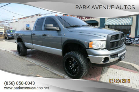 2005 Dodge Ram Pickup 2500 for sale at PARK AVENUE AUTOS in Collingswood NJ