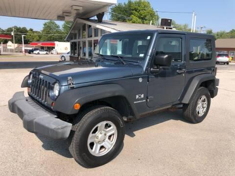 2007 Jeep Wrangler for sale at Auto Target in O'Fallon MO