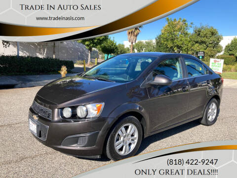 2014 Chevrolet Sonic for sale at Trade In Auto Sales in Van Nuys CA