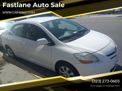 2008 Toyota Yaris for sale at Fastlane Auto Sale in Los Angeles CA