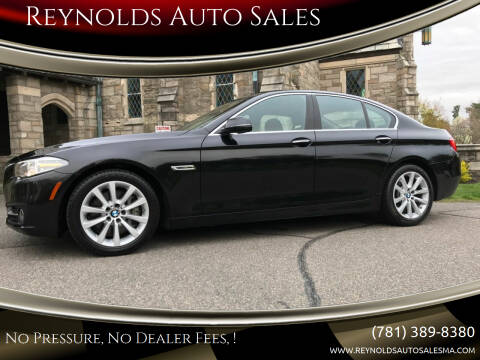 2016 BMW 5 Series for sale at Reynolds Auto Sales in Wakefield MA