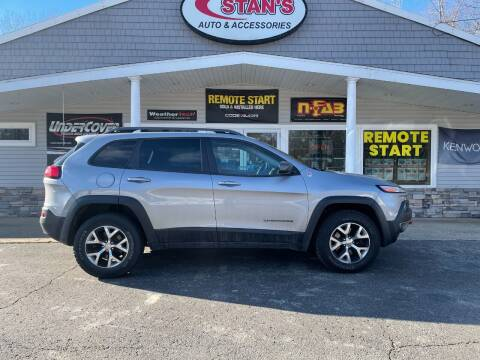 2015 Jeep Cherokee for sale at Stans Auto Sales in Wayland MI
